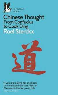 Link to an enlarged image of Chinese Thought : From Confucius to Cook Ding (Pelican Books) -- Paperback / softback