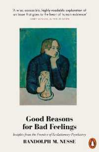 Link to an enlarged image of Good Reasons for Bad Feelings: Insights from the Frontier of Evolutionary Psychiatry