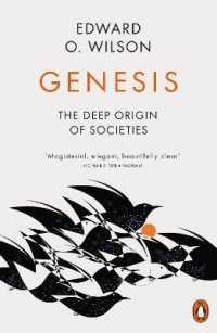 Link to an enlarged image of Genesis : The Deep Origin of Societies -- Paperback / softback
