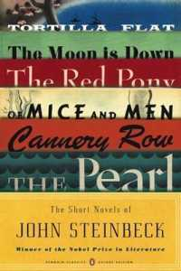 Link to an enlarged image of The Short Novels of John Steinbeck : Tortilla Flat/ the Red Pony/ of Mice and Men/ the Moon Is Down/ Cannery Row/ the Pearl (Penguin Classics Deluxe E