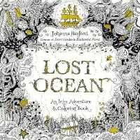 Books Kinokuniya Lost Ocean Adult Coloring Book An Underwater