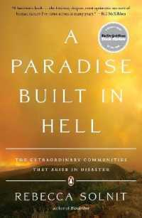 Link to an enlarged image of A Paradise Built in Hell : The Extraordinary Communities That Arise in Disaster (Reprint)