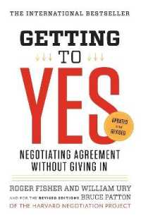 Link to an enlarged image of Getting to Yes : Negotiating Agreement without Giving in (Updated Revised)