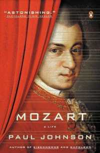 Link to an enlarged image of Mozart : A Life (Reprint)