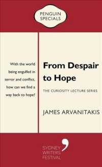 Link to an enlarged image of From Despair to Hope (Curiosity Lecture Series: Penguin Special)