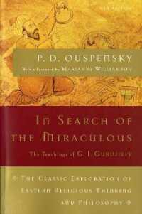 Link to an enlarged image of In Search of the Miraculous : Fragments of an Unknown Teaching (Harvest Book) (New)