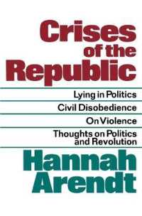 Link to an enlarged image of Crises of the Republic : Lying in Politics; Civil Disobedience; on Violence; Thoughts on Politics and Revolution