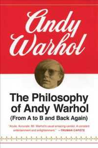 Link to an enlarged image of The Philosophy of Andy Warhol : (From a to B and Back Again) (Harbrace Paperbound Library ; Hpl 75)