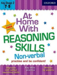 Link to an enlarged image of At Home with Non-Verbal Reasoning Skills (7-9)