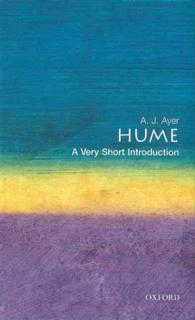Link to an enlarged image of Hume : A Very Short Introduction (Very Short Introductions)