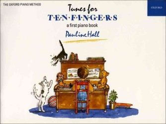 Link to an enlarged image of Tunes for Ten Fingers -- Book