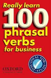 Link to an enlarged image of Really Learn 100 Phrasal Verbs for Business