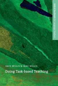 Link to an enlarged image of Oxford Handbooks for Language Teachers: Doing Task-based Teaching