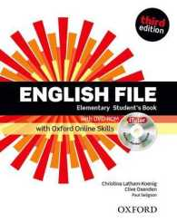 Link to an enlarged image of English File Third Edition Elementary Student Book with Itutor & Online Skills Pack (3rd)