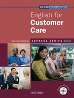 Link to an enlarged image of Express Series English for Customer Care Student Book with Multi-rom