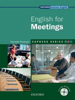 Link to an enlarged image of Express Series English for Meetings Student Book with Multi-rom