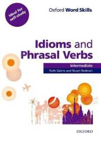 Link to an enlarged image of Oxford Word Skills Idioms and Phrasal Verbs Intermediate Student Book with Key