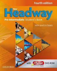 Link to an enlarged image of New Headway Fourth Edition Pre-intermediate Student Book with itutor Dvd-rom Pack (New)