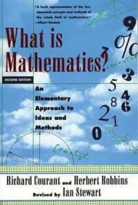 Link to an enlarged image of What Is Mathematics? : An Elementary Approach to Ideas and Methods (2nd Subsequent)
