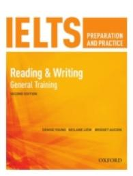 Link to an enlarged image of Ielts Preparation & Practice Reading & Writing General Training Students Book -- Paperback / softback