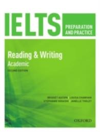 Link to an enlarged image of Ielts Preparation & Practice Reading & Writing Academic Students Book -- Paperback / softback