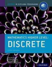 Link to an enlarged image of Mathematics Higher Level : Discrete Mathematics (Oxford Ib Diploma Programme)