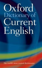 Link to an enlarged image of Oxford Dictionary of Current English (4th)