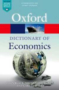 Link to an enlarged image of A Dictionary of Economics (Oxford Quick Reference) (5th)