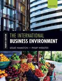 Link to an enlarged image of The International Business Environment (4th)