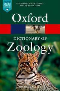 Dictionary of Zoology 9780198845089