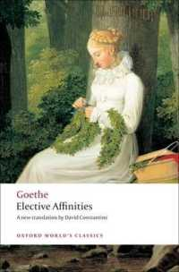 Link to an enlarged image of Elective Affinities (Oxford World's Classics)