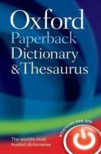 Link to an enlarged image of Oxford Paperback Dictionary and Thesaurus (3rd)