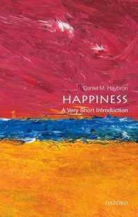 Link to an enlarged image of Happiness : A Very Short Introduction (Very Short Introductions)