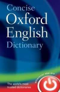 Link to an enlarged image of Concise Oxford English Dictionary (12th Hardcover + Pass Code)
