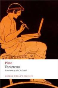 Link to an enlarged image of Theaetetus (Oxford World's Classics)