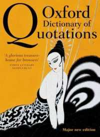 Link to an enlarged image of Oxford Dictionary of Quotations (Oxford Dictionary of Quotations) (8th)
