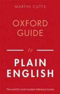 Link to an enlarged image of Oxford Guide to Plain English (4th)