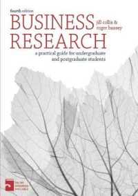 Link to an enlarged image of Business Research : A Practical Guide for Undergraduate & Postgraduate Students (4th)
