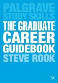 books kinokuniya the graduate career guidebook palgrave study