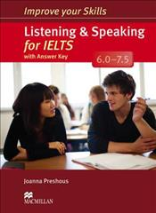 Link to an enlarged image of Improve Your Skills: Listening & Speaking for IELTS 6.0-7.5 Student's Book with key Pack