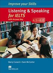 Link to an enlarged image of Improve Your Skills: Listening & Speaking for IELTS 4.5-6.0 Student's Book with key Pack