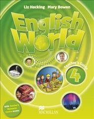 Link to an enlarged image of English World Level 4 Teacher's Book + Webcode Pack