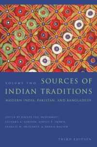 Link to an enlarged image of Sources of Indian Traditions : Modern India, Pakistan, and Bangladesh (Introduction to Asian Civilizations) <2> (3rd Reprint)