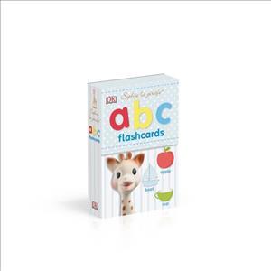 Link to an enlarged image of Sophie la Girafe Abc Flashcards (Sophie la Girafe) -- Board book