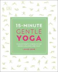 Link to an enlarged image of 15-Minute Gentle Yoga: Four 15-Minute Workouts for Energy, Balance, and Calm (15 Minute Fitness)