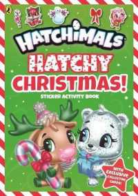 Link to an enlarged image of Hatchimals: Hatchy Christmas! Sticker Activity Book (Hatchimals) -- Paperback / softback