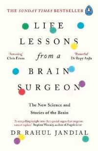 Link to an enlarged image of Life Lessons from a Brain Surgeon : The New Science and Stories of the Brain -- Paperback / softback