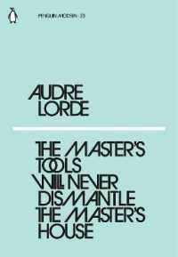 Link to an enlarged image of Master's Tools Will Never Dismantle the Master's House (Penguin Modern) -- Paperback / softback
