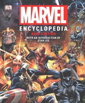 Link to an enlarged image of Marvel Encyclopedia New Edition -- Hardback