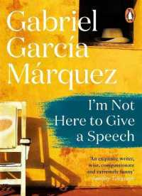 Link to an enlarged image of I'm Not Here to Give a Speech -- Paperback / softback (English Language Edition)